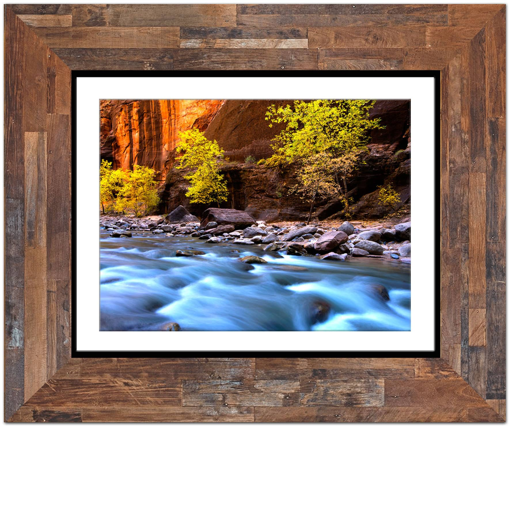Plywood Patina Picture Frame Indoteak Design